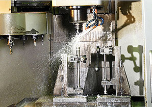 Vertical Machining Centers Process
